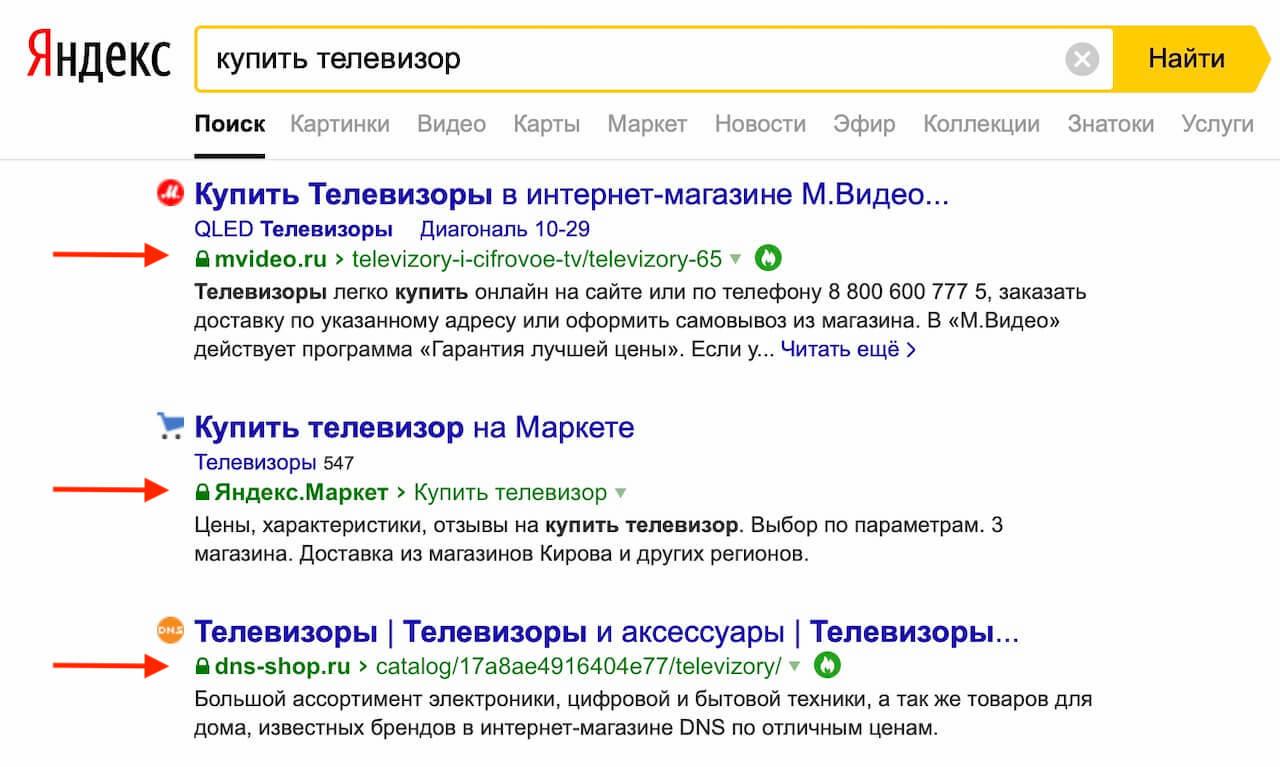 поисковый трафик