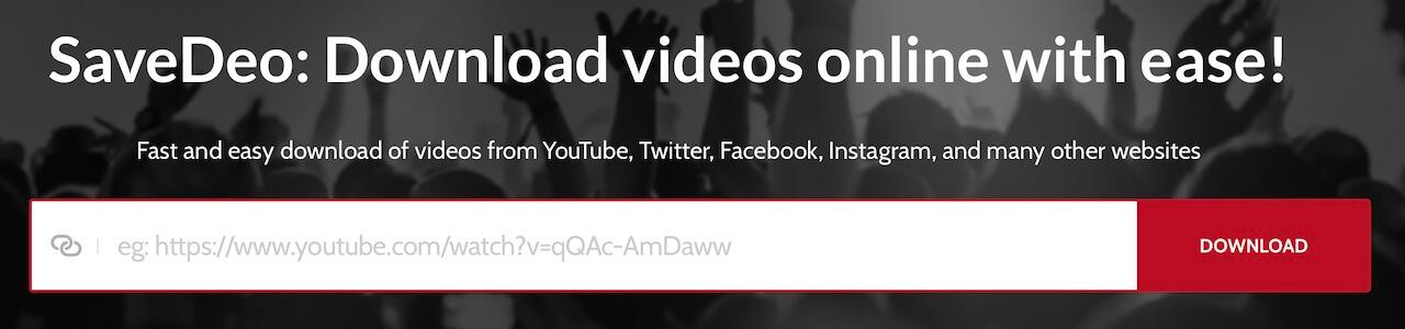 Скачать видео с Save Deo
