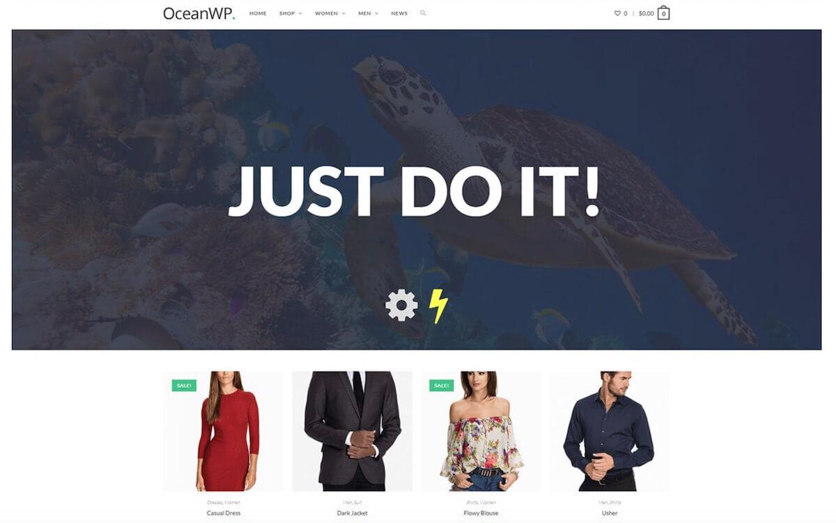 бесплатная тема для wp OceanWP