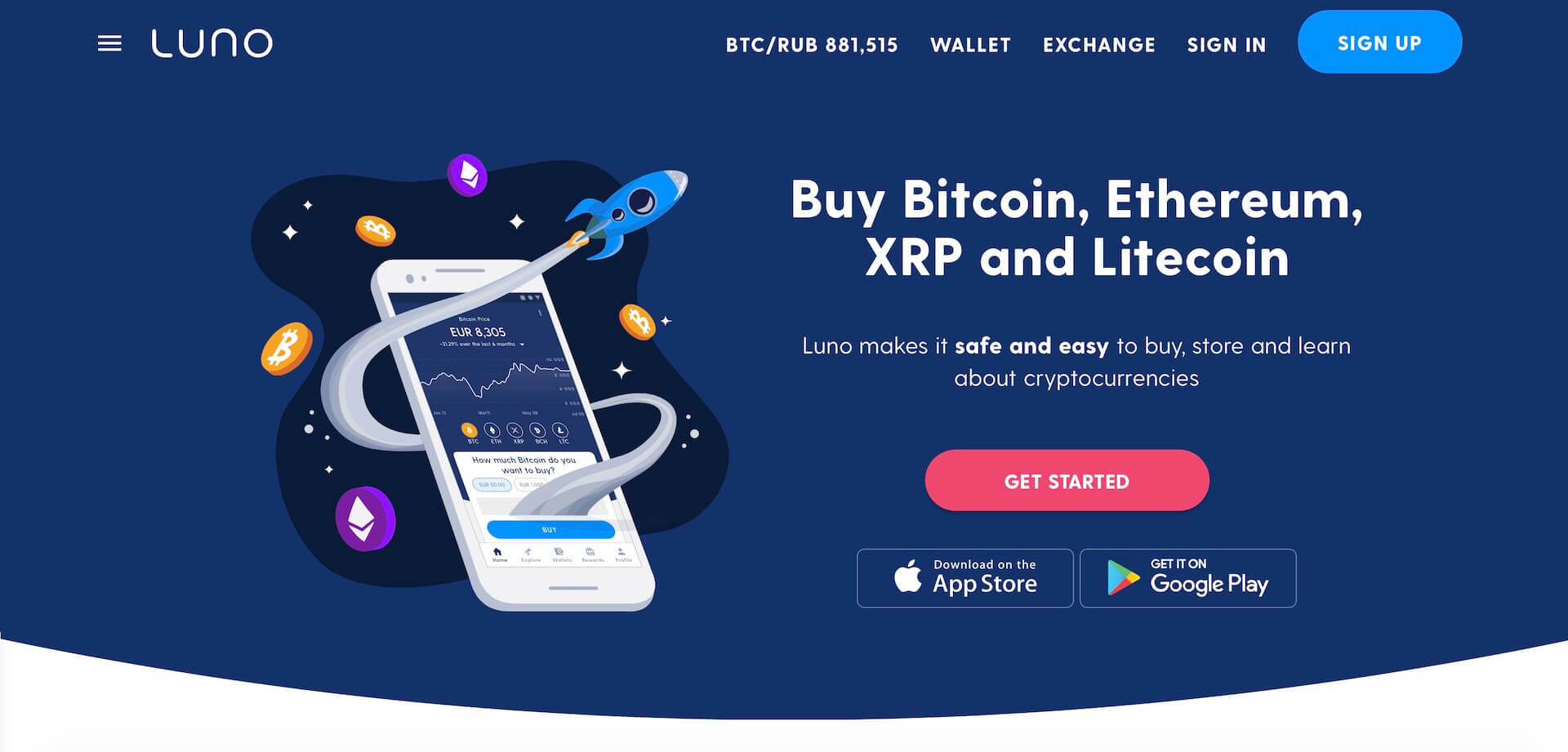 биржа криптовалют Luno