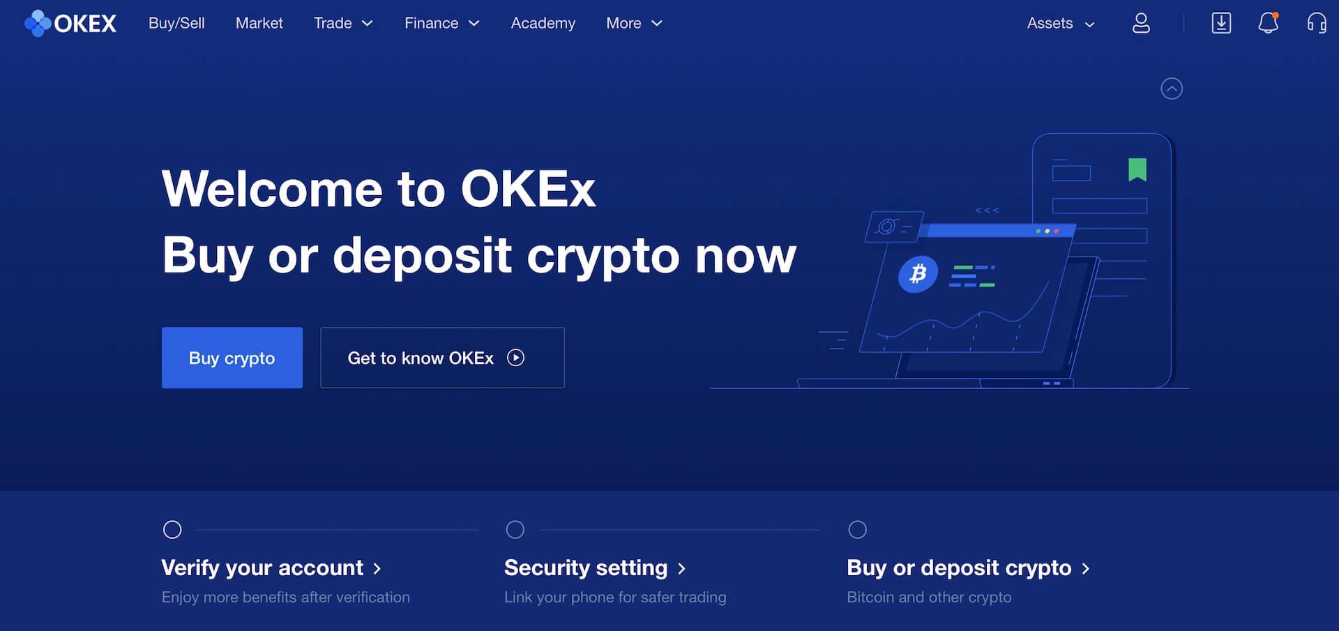 биржа криптовалют OKEx